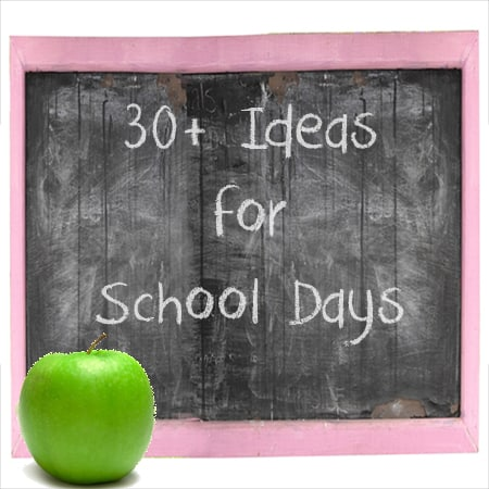 30+ ideas for back to school
