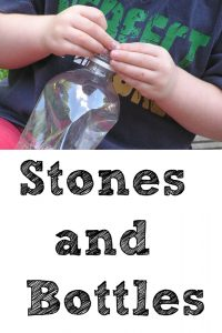 Stones and bottles