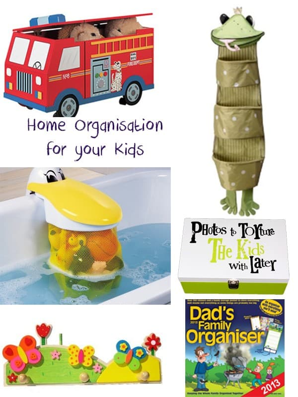 Home Organization for kids and you