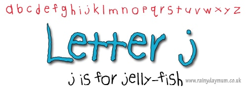 phonic crafts letter j