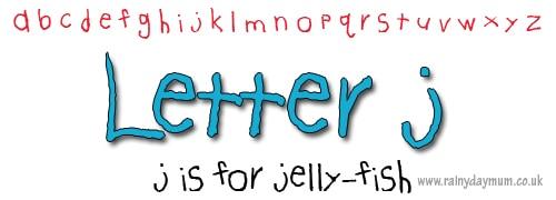 phonic crafts letter j