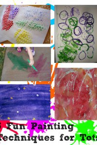 5 Fun Ways to Paint With Toddlers and Your Tots