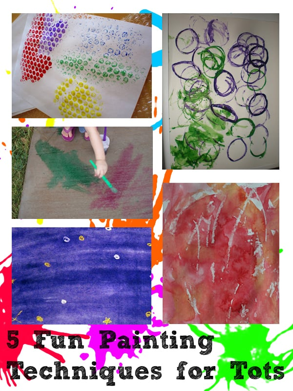 paint with toddlers
