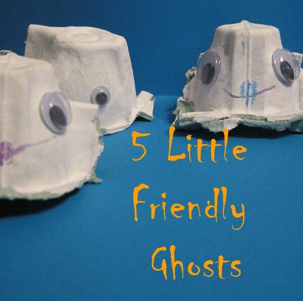 5 little friendly ghosts