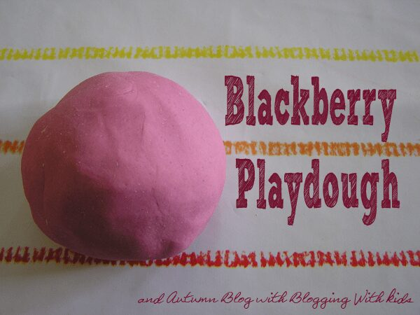 Blackberry Playdough