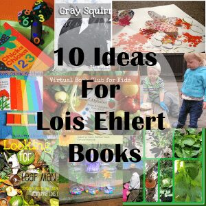 10 activities for Lois Ehlert Books