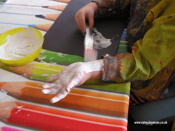 handprint making
