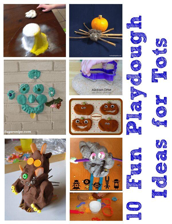 10 fun playdough activities for tots
