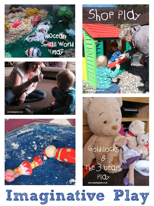 Imaginative Play for Under 2's
