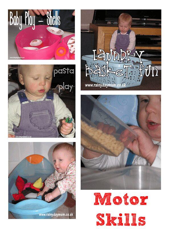 fine and gross motor activities
