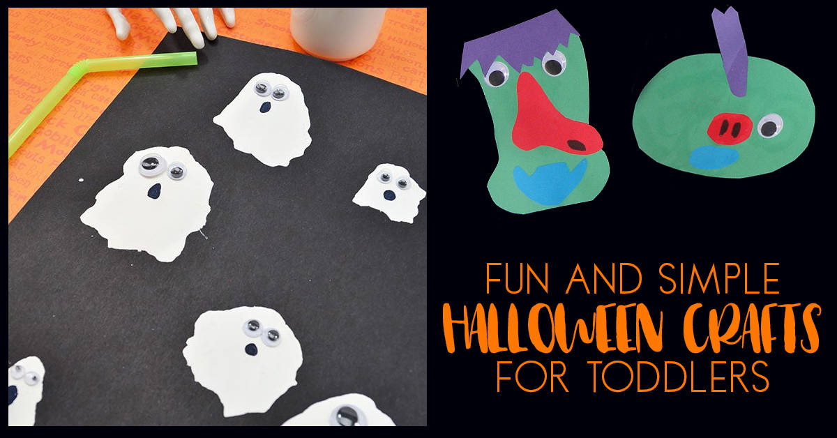 Fun Halloween Crafts For Toddlers And You To Do Together