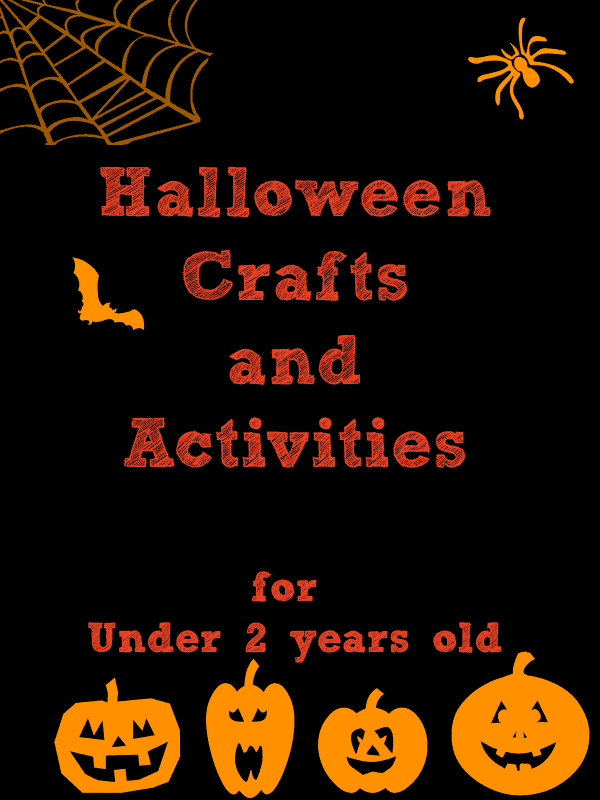 Fun and none scary crafts, recipes and activities for toddlers to do this Halloween