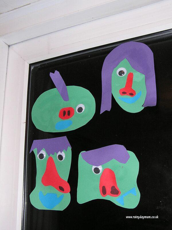 preschool Halloween Monsters