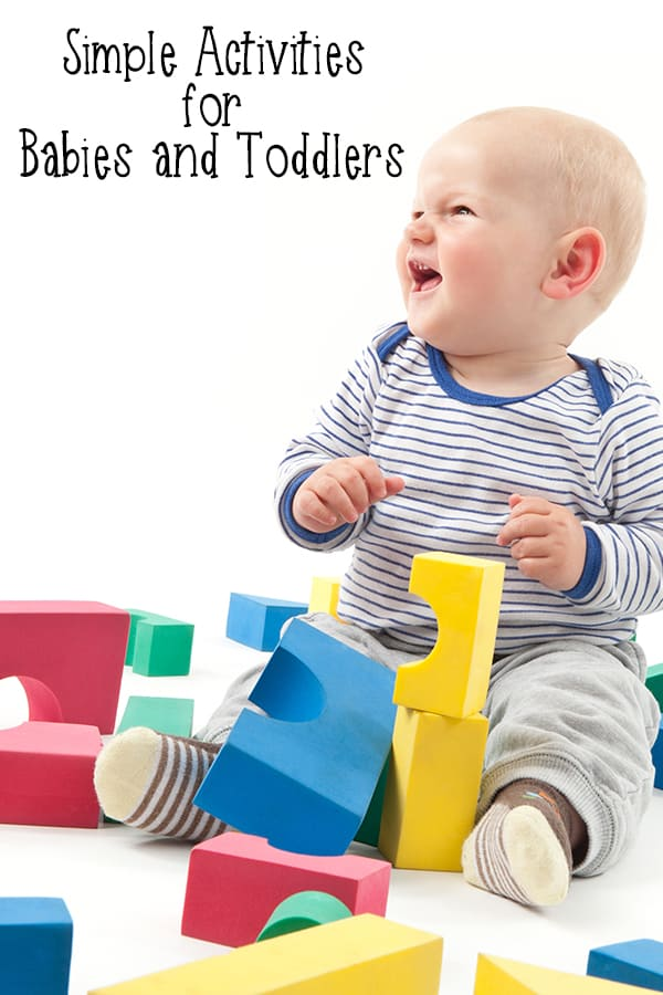Fun Activities for 18-month-olds and younger