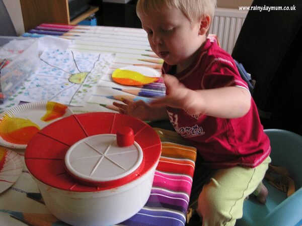 spin art at home