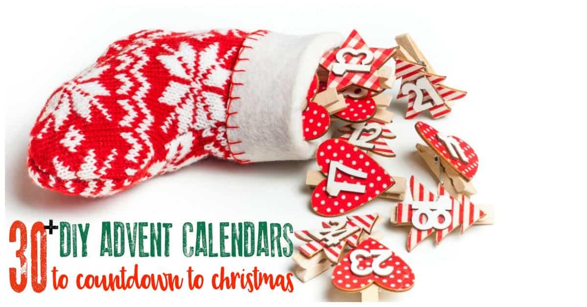 Self Made Christmas Calendar : Creative ideas for diy advent calendars to countdown