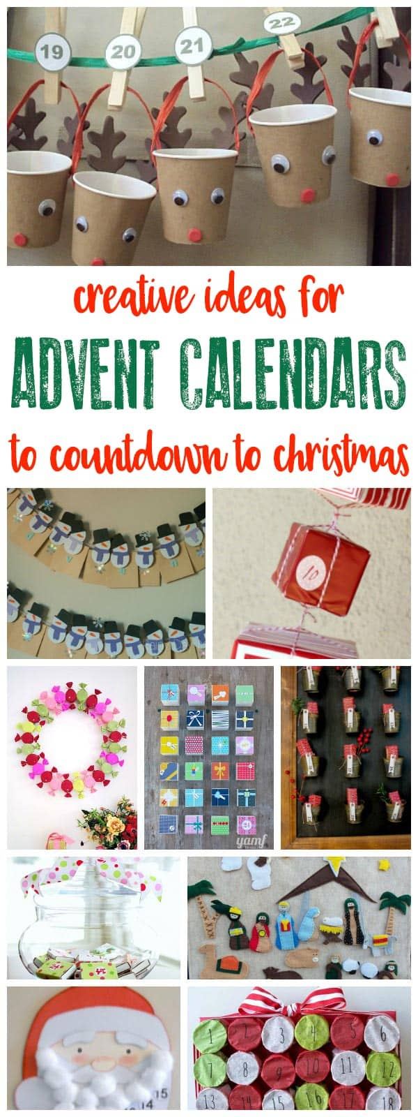 Advent Calendar Ideas Uk : Creative ideas for diy advent calendars to countdown