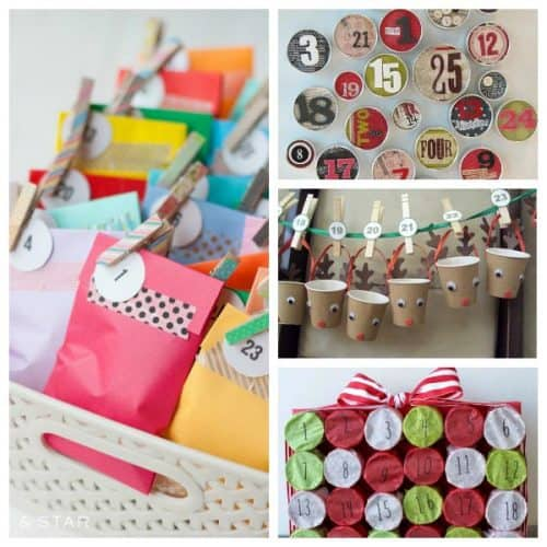 Easy DIY Advent Calendars to Countdown to Christmas