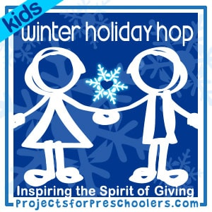 Projects for Preschoolers Kids Winter Holiday Hop