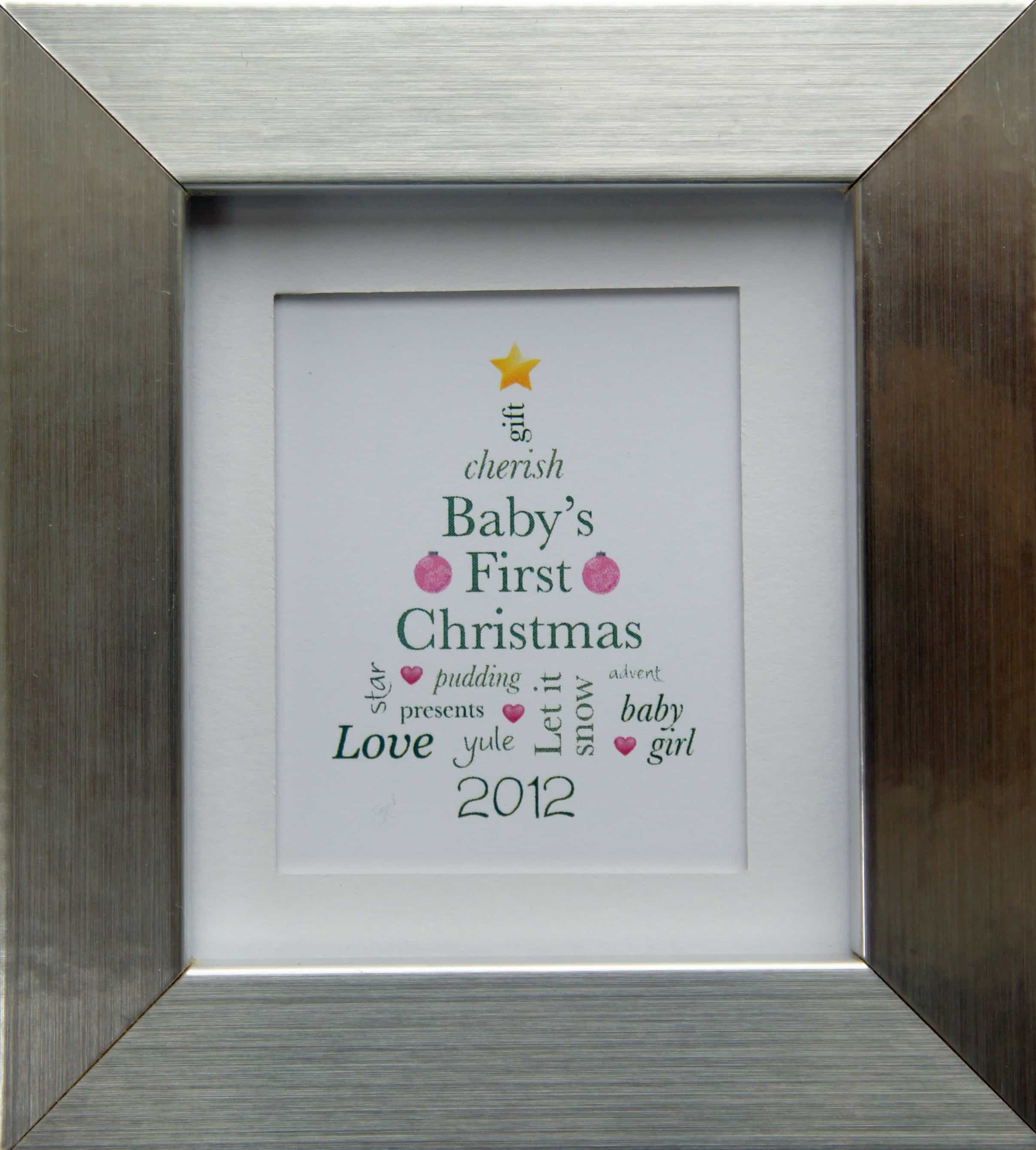 Gifts for Baby\'s First Christmas