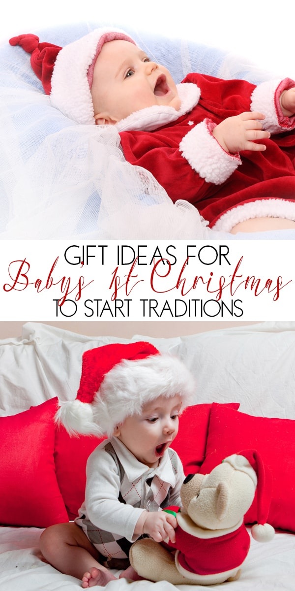Gift suggestions for baby's first Christmas ideas that they and you can treasure forever