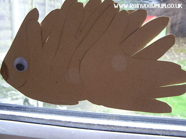 Hedgehog craft for preschoolers