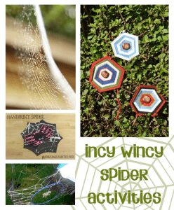incy wincy spider activities