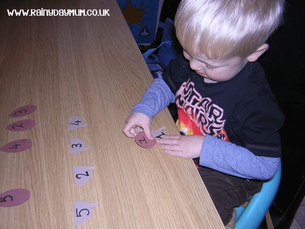numeral recognition activity