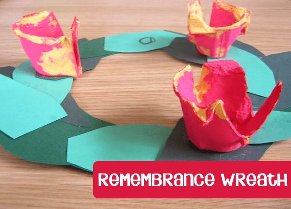 Remembrance Day Wreath for Kids