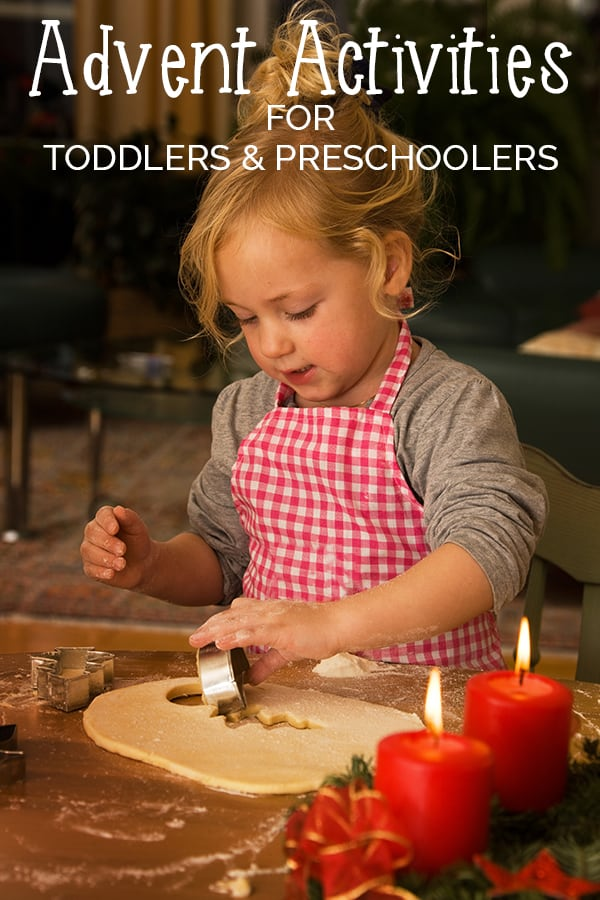 Advent Activities for Toddlers and Preschoolers
