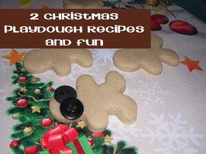Christmas playdough recipes