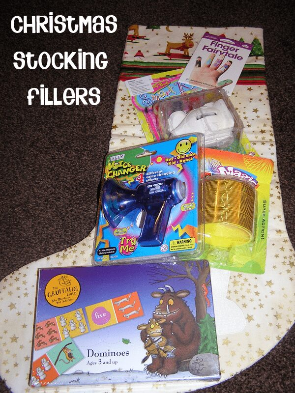 Christmas Stocking Filler ideas for preschoolers