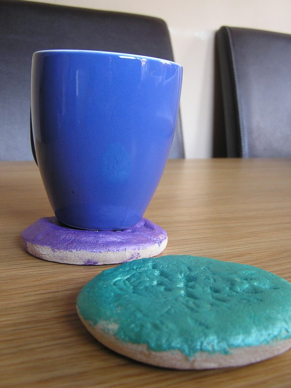 Salt Dough DIY Gift for kids to make