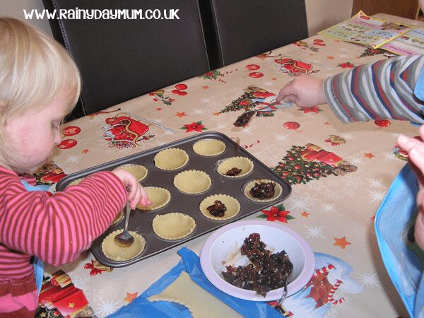 Christmas recipe for mince pies