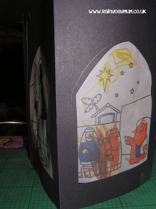 Nativity activity for kids