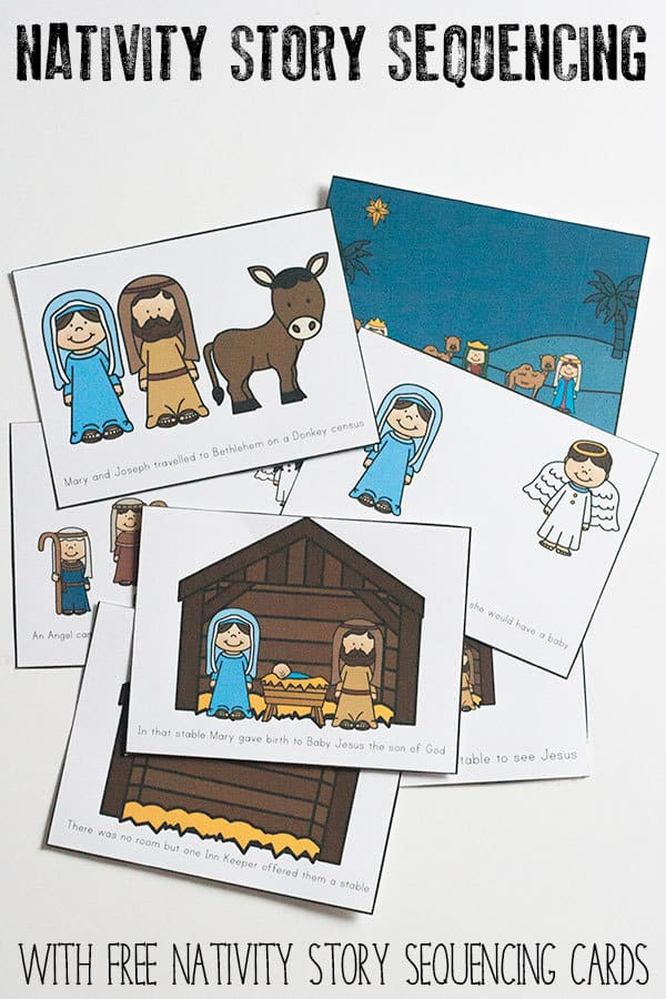 Story Sequencing – The Nativity