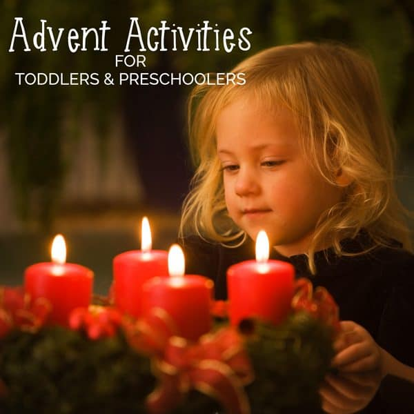 24 Advent Activities for Toddler and Preschoolers with crafts, baking, traditions, nature hunts and Family Fun these are great fun to countdown to Christmas