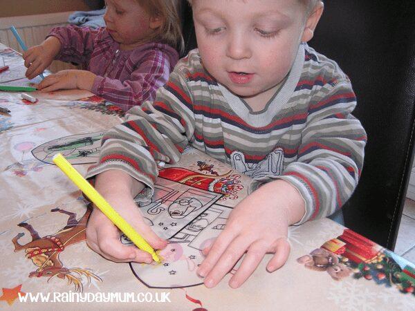 nativity craft for preschool