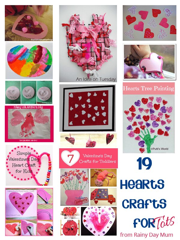 Hearts Crafts for Kids