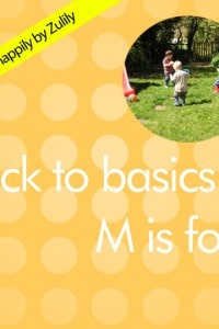 Back to Basics – M is for Make Believe