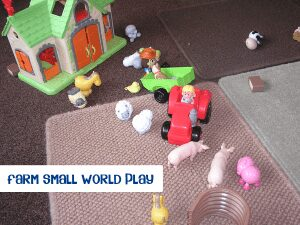 Farm Small World Play