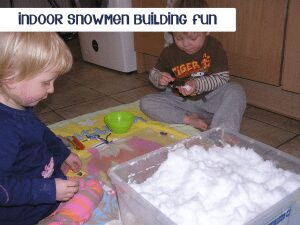 indoor snow day activities for kids