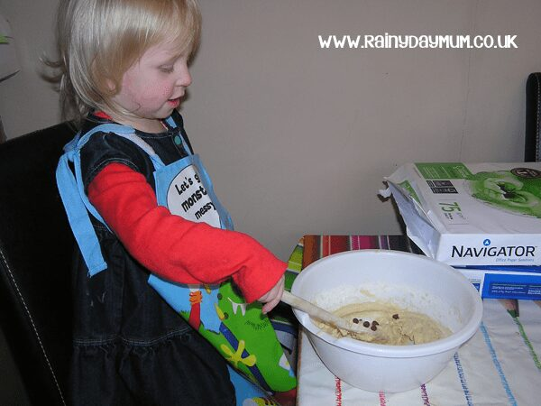 cooking with toddlers