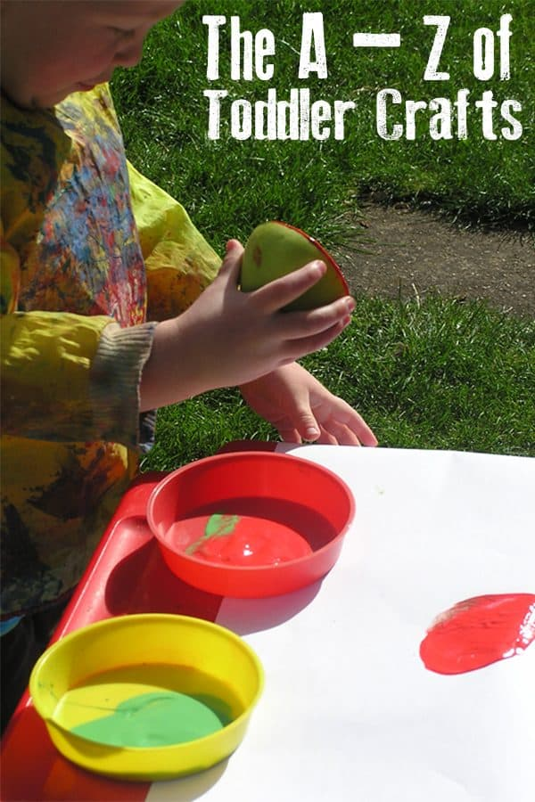 Fun and Easy Toddler Craft Ideas from A to Z