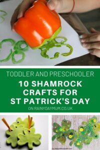 toddler and preschool 10 Shamrock Crafts for St Patrick's Day