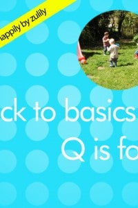 Back to Basics – Q is for…