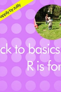 Back to Basics R is for…