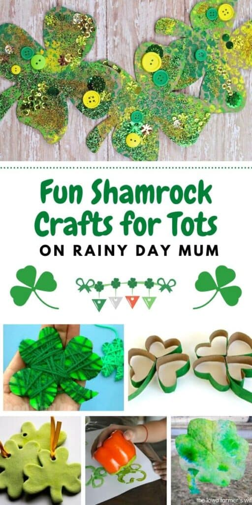 Fun Shamrock Crafts for Tots