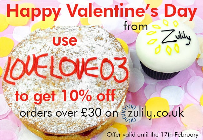 Valentines Special offer from Zulily