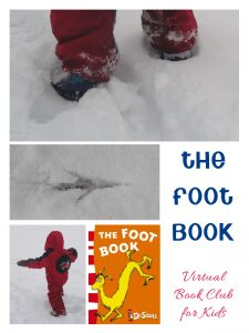 The Foot Book Activities for kids